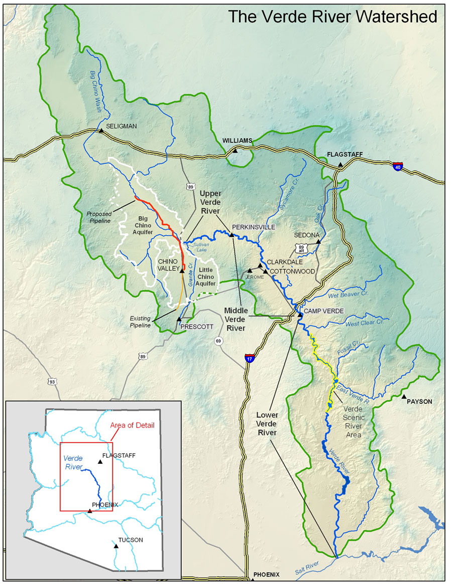 MAP VerdeWatershed